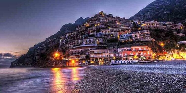Sorrento na Costa Amalfitana na Itália