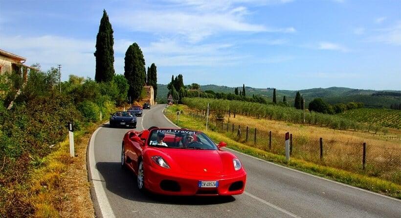 Aluguel de carro para turistar na Itália