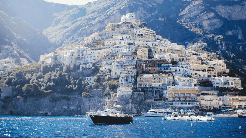 Turismo na Ilha de Capri na Itália