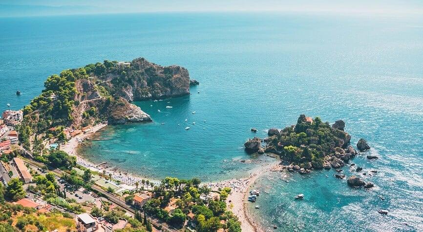 Isola Bella em Sicília e na Itália