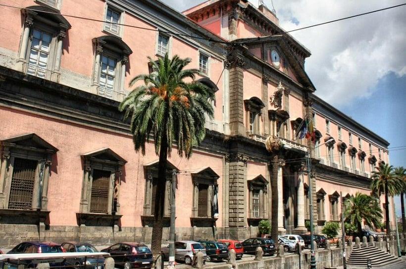 Museu Arqueológico Nacional em Nápoles