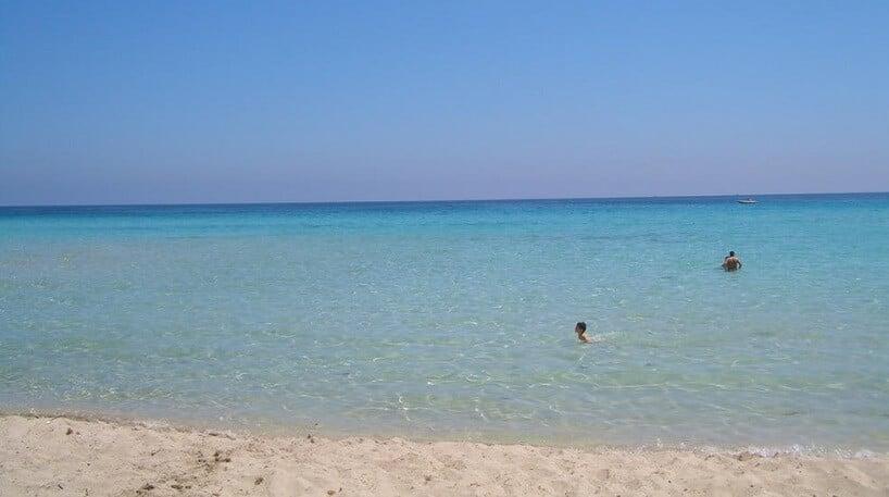Praia Mondello em Palermo
