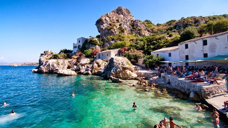Scopello em Sicília
