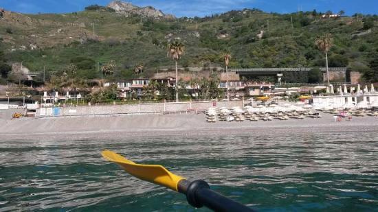 Praia Mazzeo em Taormina