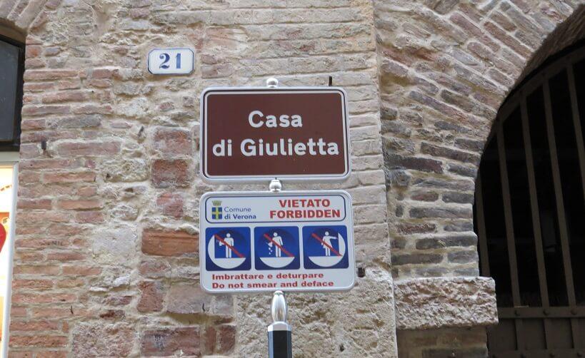 Atrativos em Verona na Itália