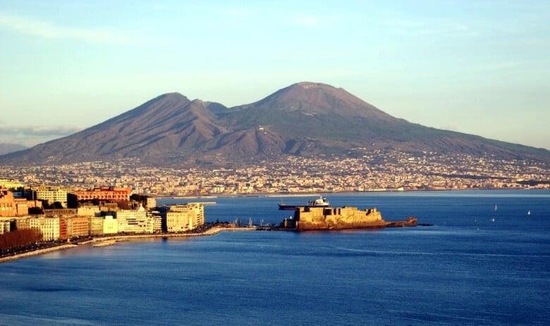 Visita ao Vesúvio em Nápoles