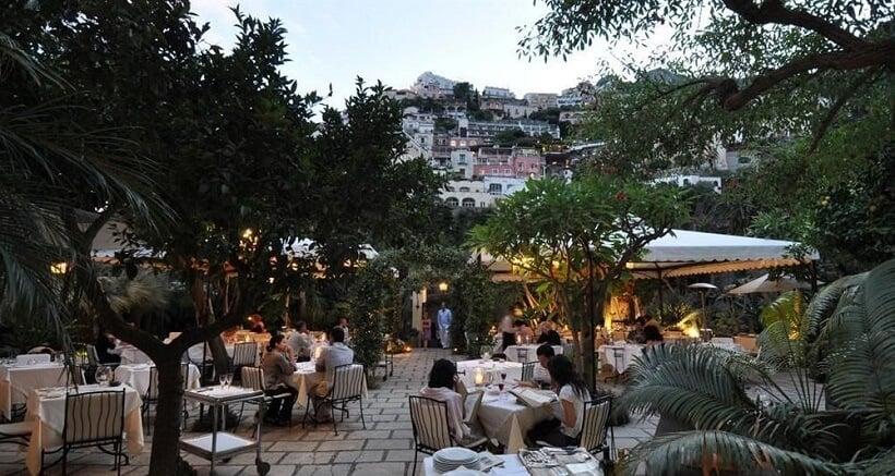 Restaurantes em Positano na Costa Amalfitana