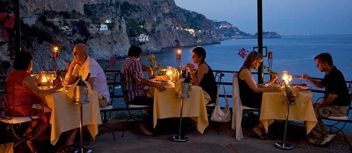 Restaurantes em Amalfi