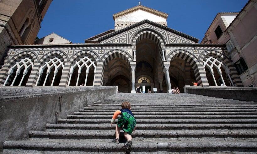 Passeios pelo centro de Amalfi