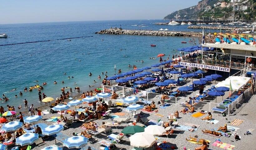Melhores praias de Ravello na Costa Amalfitana