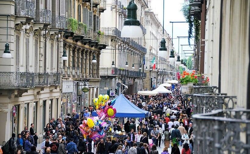 Movimento das ruas de Génova