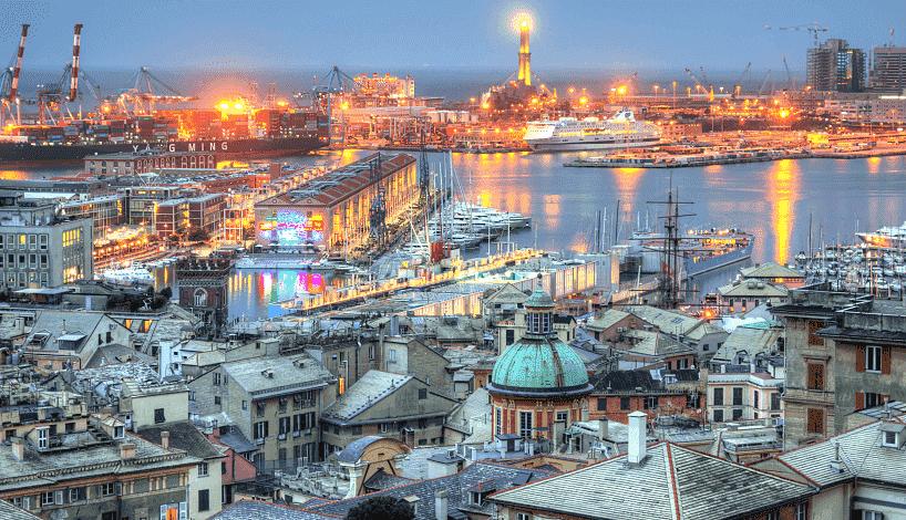 Atrativos e passeios em Génova