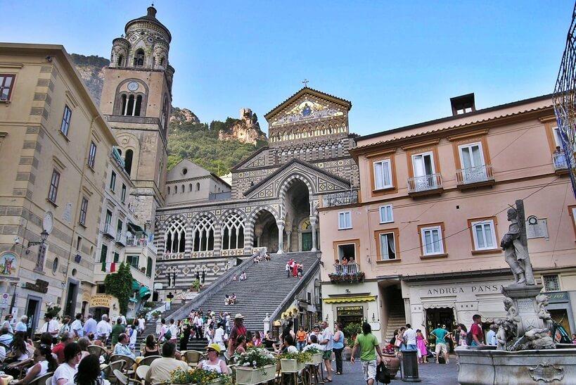 Região central de Amalfi
