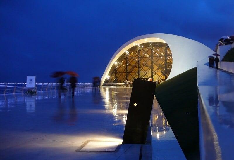 Visita ao Auditório de Oscar Niemeyer em Ravello