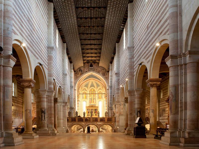 Principais basílicas de Verona