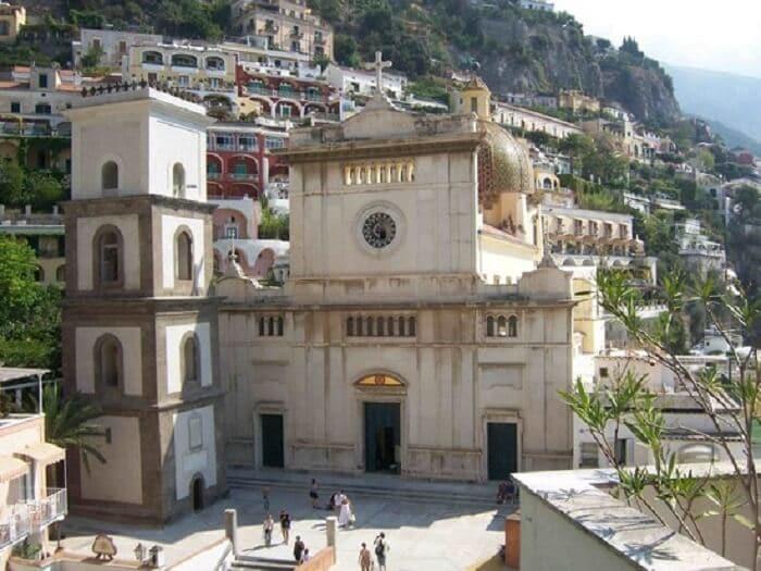 Igreja Santa Maria de Assunta em Positano