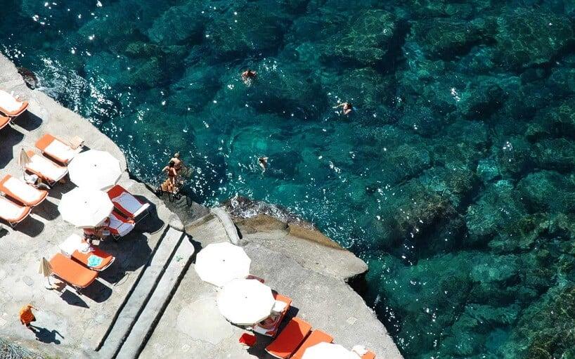 Praias em Positano na Costa Amalfitana