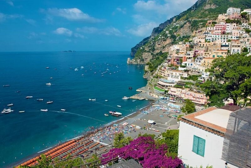 Tour pelas praias em Positano na Costa Amalfitana