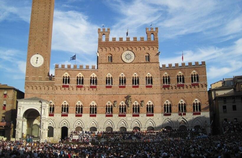 Palazzo Pubblico em Siena