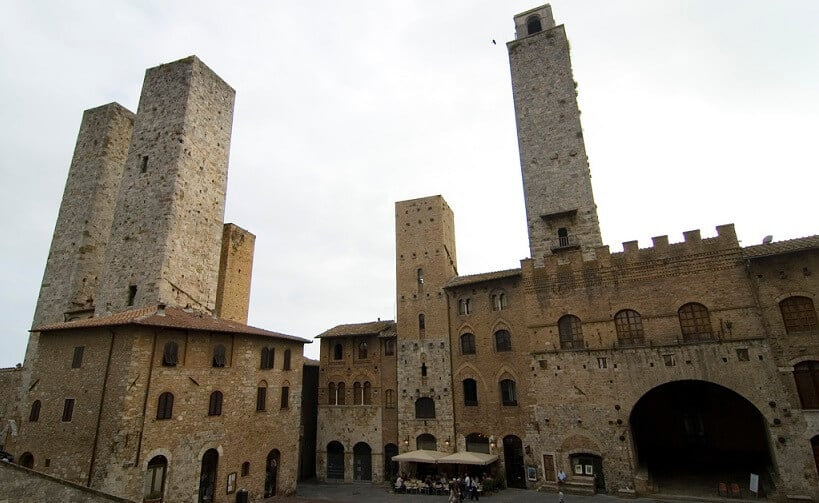 Bell Tower em San Gimignano