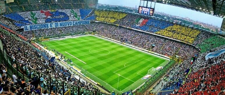 Estádio Giuseppe Meazza em Milão