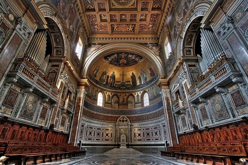 Basílica di San Giovanni in Laterano em Roma na Itália