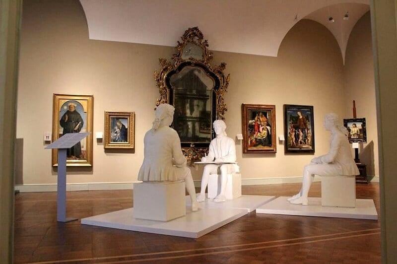 Obras expostas no Museu Poldi Pezzoli em Milão