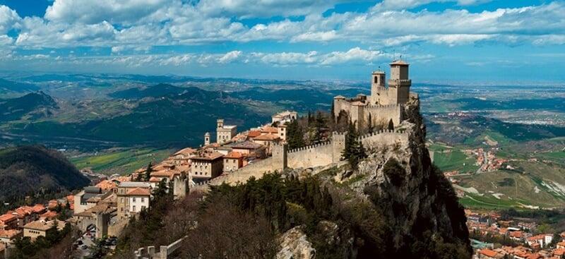 Vista da cidade de Ravena