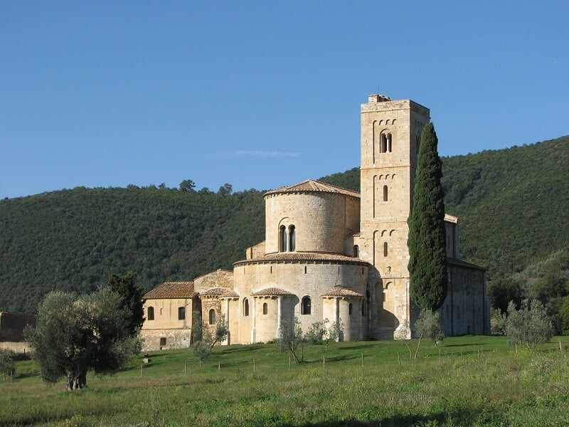 Abbadia di Sant'Antimo em Montalcino