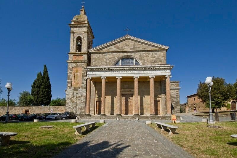 Duomo de Santíssimo Salvatore em Montalcino