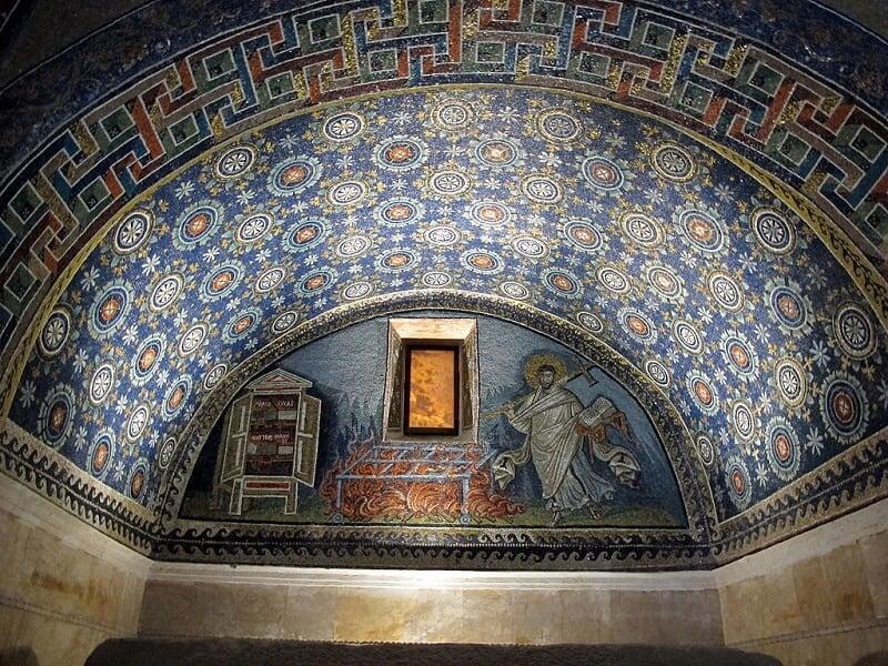 Mausoléu de Gala Placidia em Ravena