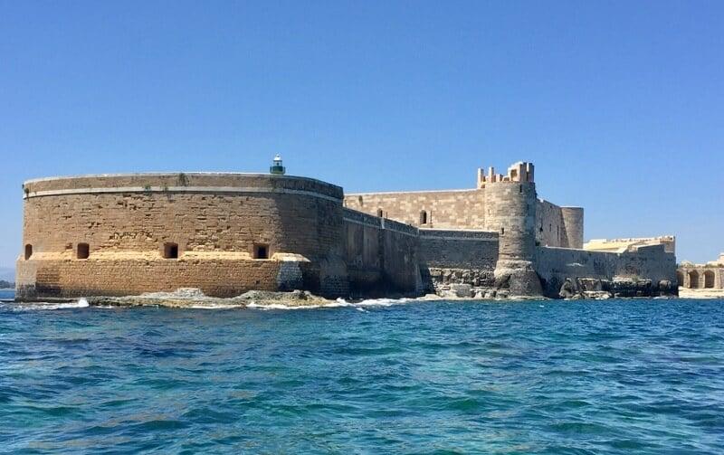 Castello Maniace em Siracusa