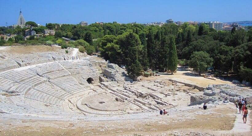 Teatro Grego em Siracusa