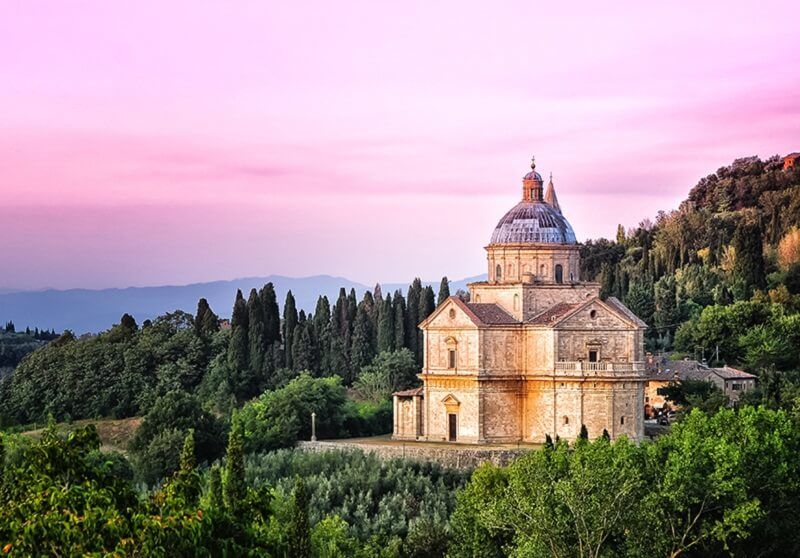Tempio di San Biagio em Montepulciano