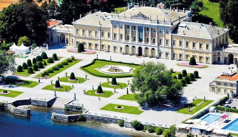 Villa Olmo em Como