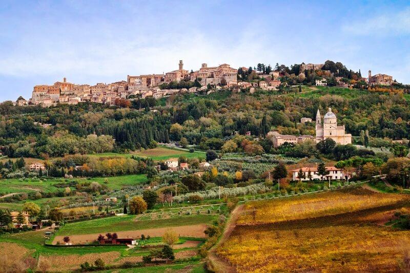 Vista da cidade de Montepulciano