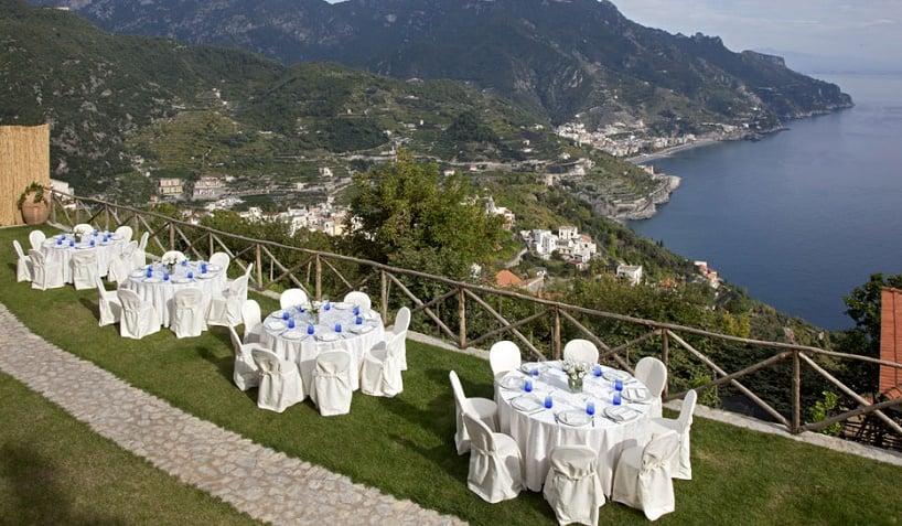 Garden Restaurant em Ravello