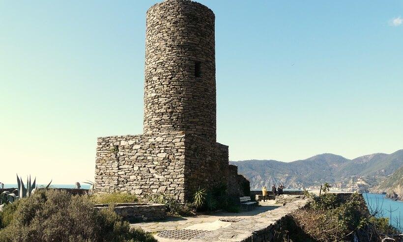 Castello Doria em Vernazza