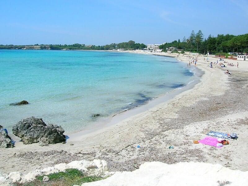 Praia Fontane Bianche em Siracusa