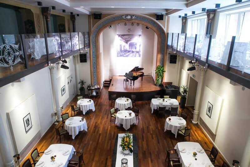 Restaurante I Portici em Bolonha