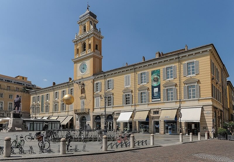 Palácio do Governador na Piazza Garibaldi