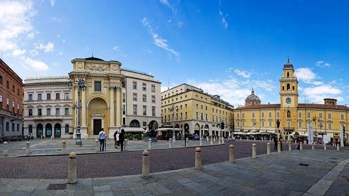 Piazza Garibaldi em Parma