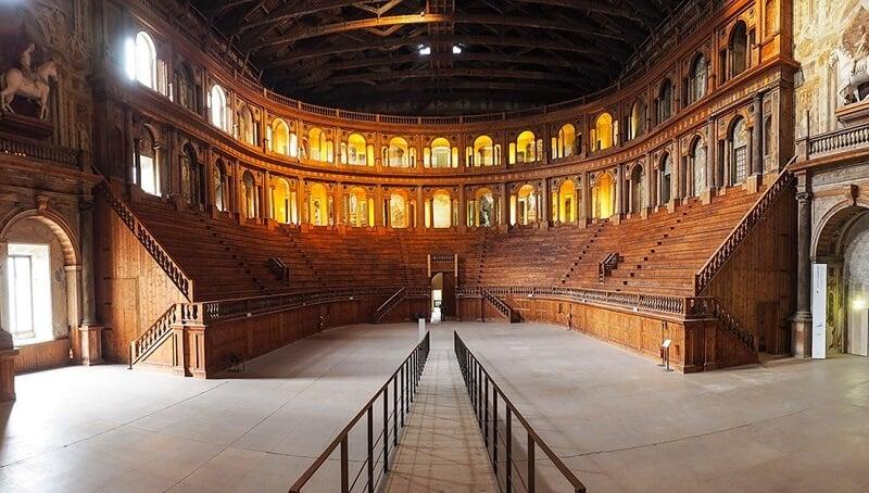 Teatro Farnese em Parma