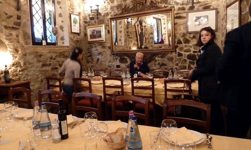 Ristorante IL Leccio em Montalcino