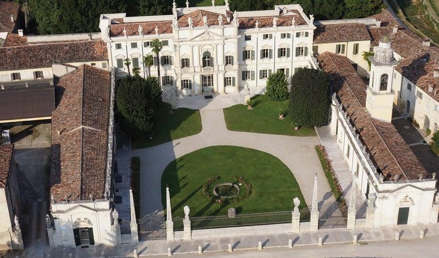 Vinícolas na Villa Mosconi Bertani em Verona
