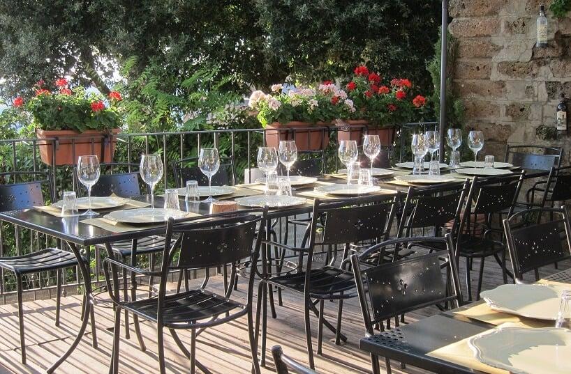 Restaurante da Cantina Gattavecchi em Montepulciano