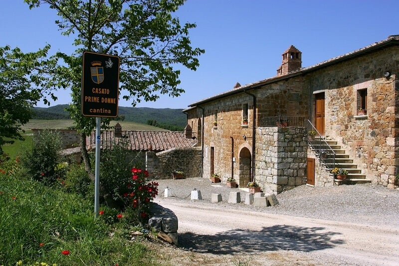 Casato Prime Donne em Montalcino