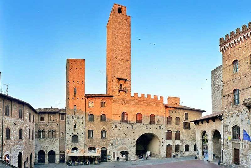 Palazzo Vecchio del Podestá em San Gimignano
