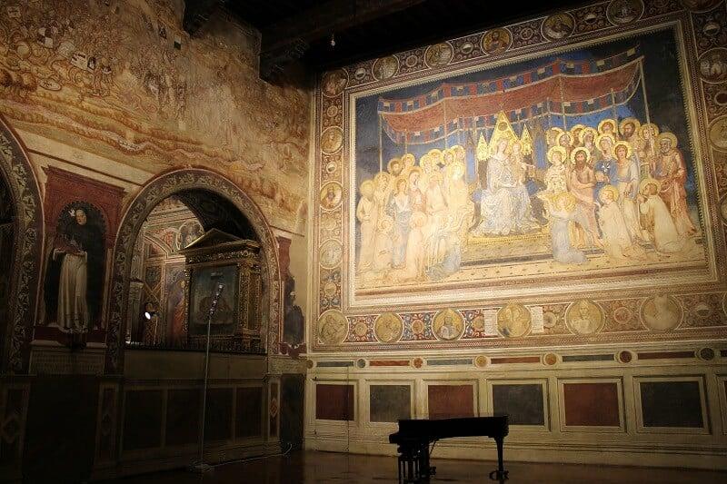 Obra exposta no Museu Cívico em San Gimignano
