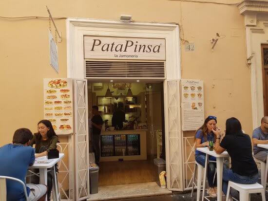 Restaurante Patapinsa em Roma